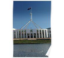 Forecourt - Parliament House, Australia Poster