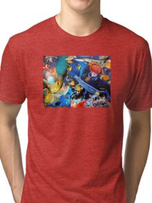 Underwater Excursion Tri-blend T-Shirt