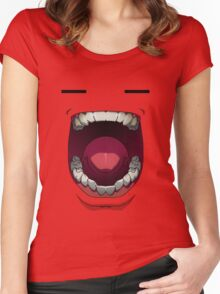 Mouth of Madness Women's Fitted Scoop T-Shirt