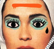 Vogue in Shambles Sticker