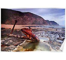 Anchored - Wreck Beach Poster