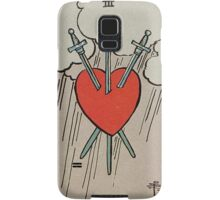 Three of Swords Tarot Samsung Galaxy Case/Skin