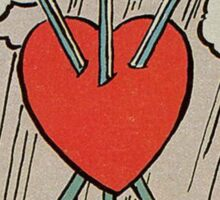 Three of Swords Tarot Sticker