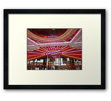 Interior of Cinema in Boise, Idaho. Framed Print