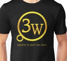 """3W Logo - """"Death is Not an End"""" Unisex T-Shirt"""