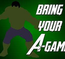 Hulk - Bring Your A-Game by alannamode