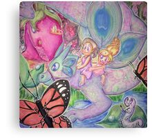 The Adventures of Teeny and Tiny Canvas Print
