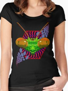 PRAYING MANTIS - 287 Women's Fitted Scoop T-Shirt