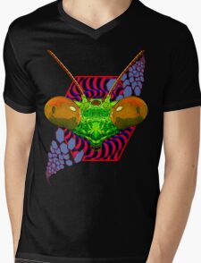 PRAYING MANTIS - 287 Mens V-Neck T-Shirt