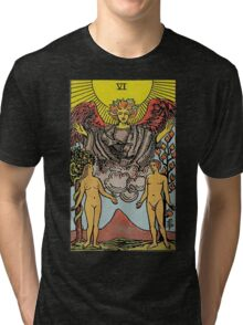 The Lovers Tarot Tri-blend T-Shirt