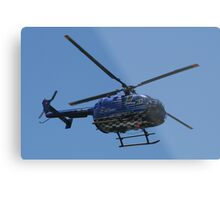 Red Bull Air Race - Helicopter Metal Print