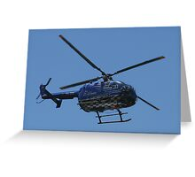 Red Bull Air Race - Helicopter Greeting Card