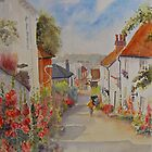 Church Hill - Hythe Kent by Beatrice Cloake Pasquier
