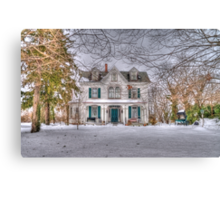 Carriage and House Canvas Print