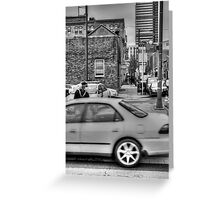 untitled BW HDR Greeting Card