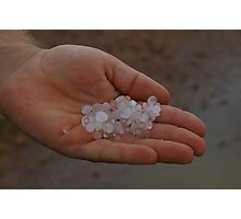 CRUNCHY RAIN.  Photographic Print