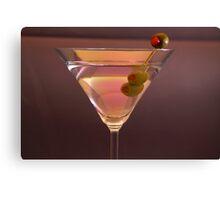 Martini Ad Canvas Print