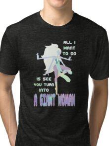 Giant Woman Tri-blend T-Shirt