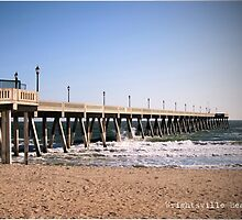 Wrightsville Beach by Melinda  Ison - Poor