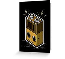Jolt Battery Greeting Card