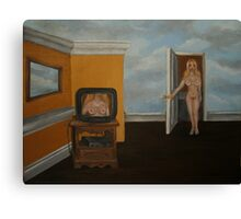 The Exhibitionist Canvas Print