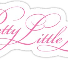 Pretty Little Liars Title - Pink Sticker