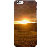 Retiring sun iPhone Case/Skin
