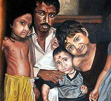 Hope and innocence - Children from Indian slums by Archana Jajodia