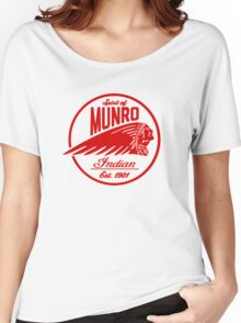Spirit Of Munro (Red) Logo  Women's Relaxed Fit T-Shirt