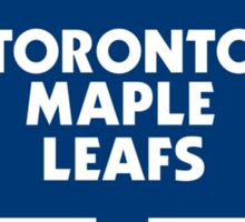 Beleaf in Leafs Sticker