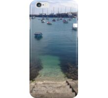 Harbour in Summertime  iPhone Case/Skin