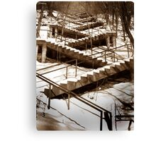 Stair Braid Canvas Print