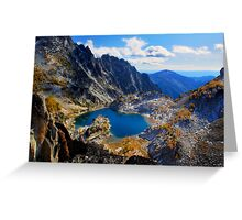 Fairytale Lake Greeting Card