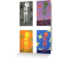 Roy the Skeleton Greeting Card