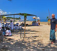 Me and my sarong...... by Adri  Padmos