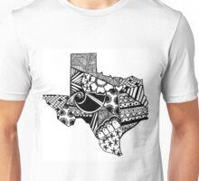 Texas ZenDoodle Unisex T-Shirt