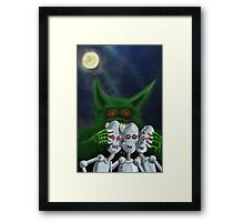 Robo Smash Framed Print