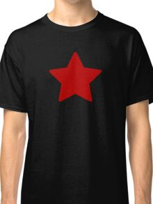 Large Ruby Red Star  Classic T-Shirt