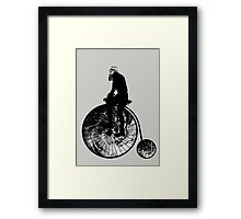 tropical bicyclone Framed Print