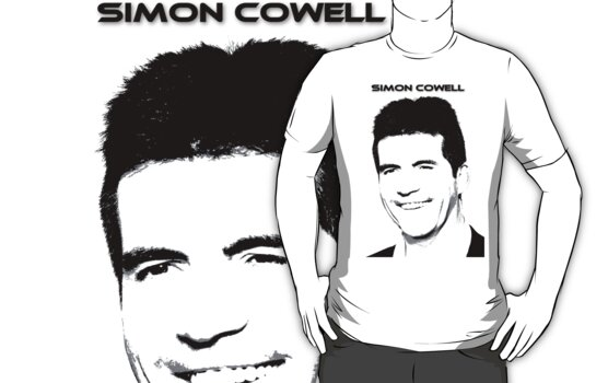 Simon Cowell T Shirt by kmercury