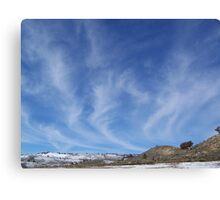 Mare's Tails Canvas Print