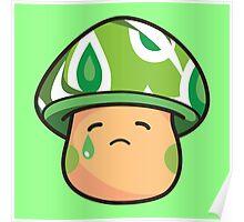 Weepy Mushroom Poster