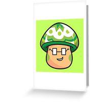 Groovy Mushroom Greeting Card