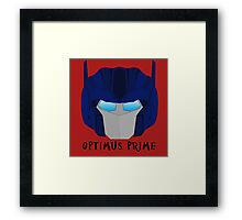 Optimus Prime [G1] Framed Print