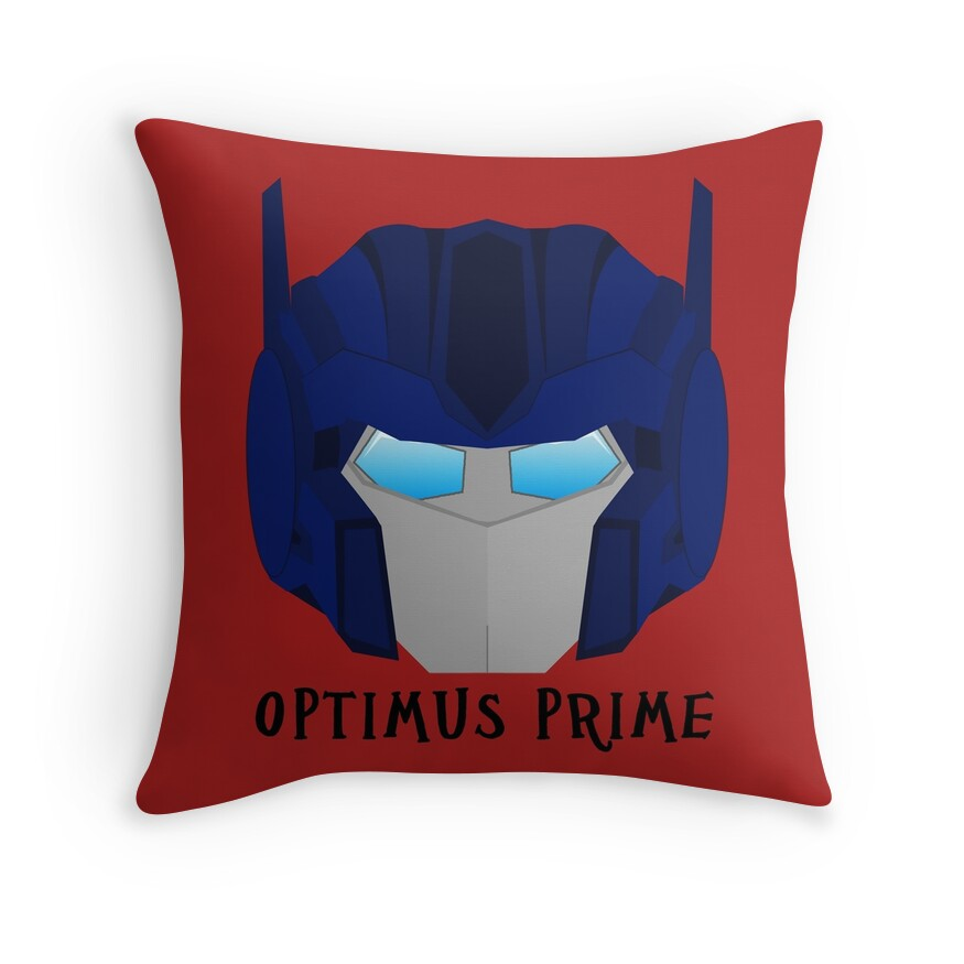 Quot Optimus Prime G1 Quot Throw Pillows By Sunnehshides Redbubble