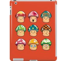 The Mushroom Friends iPad Case/Skin