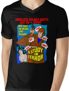 Sherlock Holmes - A Study in Terror. Mens V-Neck T-Shirt
