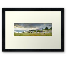 Stormy Evening at Craigs Hut, Mt Stirling, Victoria, Australia Framed Print