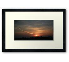 March Morning Framed Print