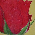 Red Rose by Zlata Bajramovic